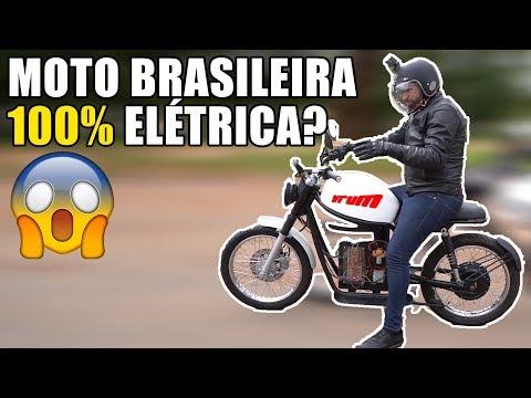 1ª MOTO ELÉTRICA DO BRASIL: PILOTAMOS A ORIGEM X/ Vrum Brasília