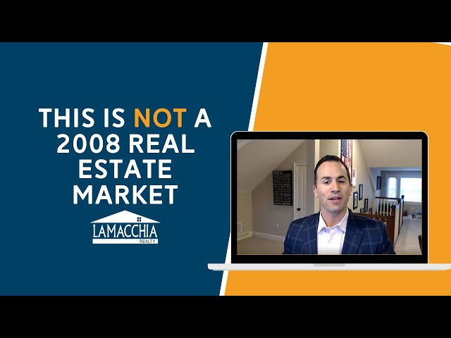 This is NOT a 2008 Real Estate Market