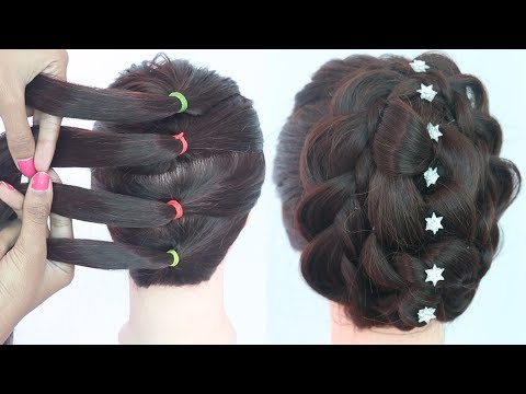 new knot hairstyle with trick || hairstyle for thin hair || messy bun | latest hairstyle | hairstyle thumbnail