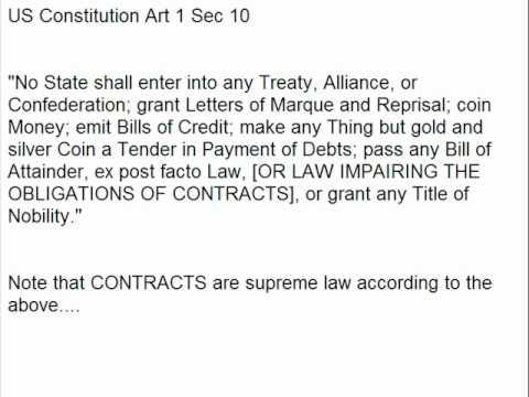 Sovereign Freeman Gordon Hall Pt 13 Court Workshop Contract Law Judgements Claims