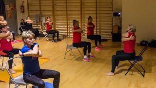 Mikołajkowy fitness w MOSiR