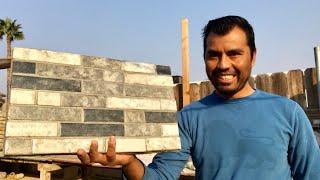 como hacer revestimiento de mosaico   making backsplash tile