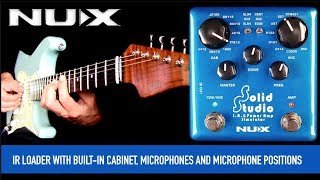 NuX Solid Studio IR & Power Amp Simulator