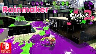 Splatoon 2 Rainmaker Ranked Battle Nintendo Switch Gameplay