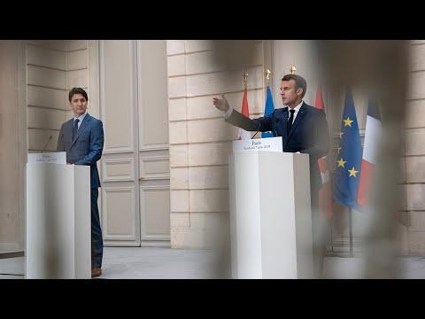 Conférence de presse avec Justin Trudeau, Premier ministre du Canada