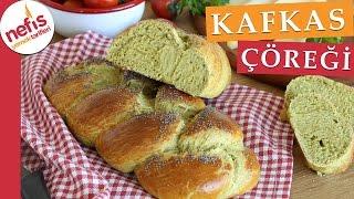 Örgülü Kafkas Çöreği Tarifi - Çörek Tarifleri- Nefis Yemek Tarifleri