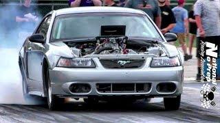Nitrous Mustang vs Turbo Mustang in the sct at Thunder Valley thumbnail