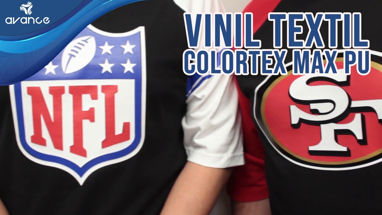 Aplicación del Vinil Textil Imprimible PU Colortex - YouTube
