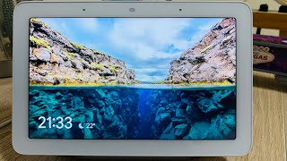 Tela Inteligente - Google Home Hub - Google Smart Display com Google Assistant