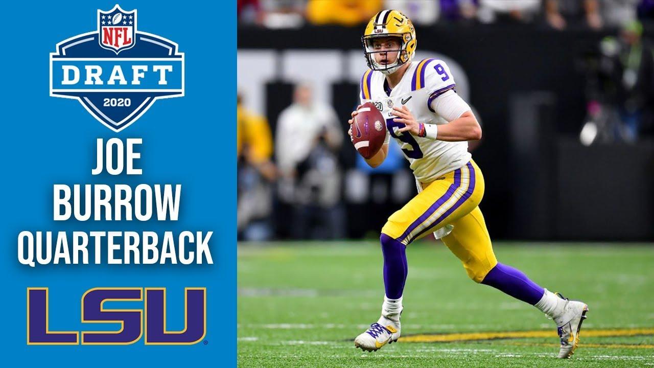 Joe Burrow | Quarterback | LSU | 2020 NFL Draft Profile