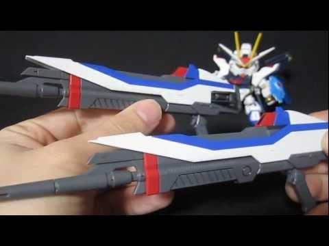 PG Strike Freedom (Part 6: Weapons) Gundam Seed Destiny gunpla review