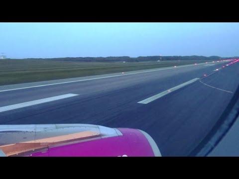 Wizz Air Belgrade Malmö - Landing