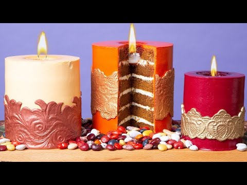 Candle Cakes You Can Light ON FIRE  How To Cake It with Yolanda Gampp