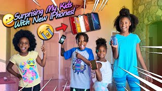 Surprising My Kids With A New iPhone!