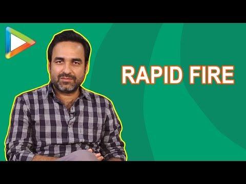 Pankaj Tripathi鈥檚 SUPERB Rapid Fire: 鈥淭iger Shroff mein Cheetah jaisi furti hai鈥�