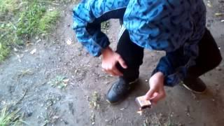 Как сделать дымовуху из спичек!(Видеоурок от Gun4ik1998 и Макса)