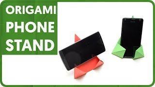 [DIAGRAM] Origami Phone Stand (Yamaguchi Makoto)