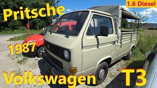 Volkswagen T3 Pritsche // Авто в Германии