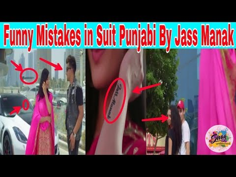 Funny Mistakes in Suit Punjabi By Jass Manak  | New Punjabi Video Song 2018