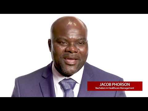 Healthcare Management Online Degree: Class Graduate Jacob Phorson | Ashworth College