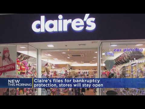 Claire's Files For Chapter 11 Bankruptcy