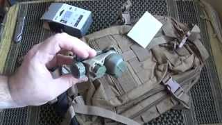 "[airsoft] Unboxing N°10 ☞ Petzl Strix Ir / Backpack ""recon"" Bulldog Tac. Gear - (usmc Pro)"