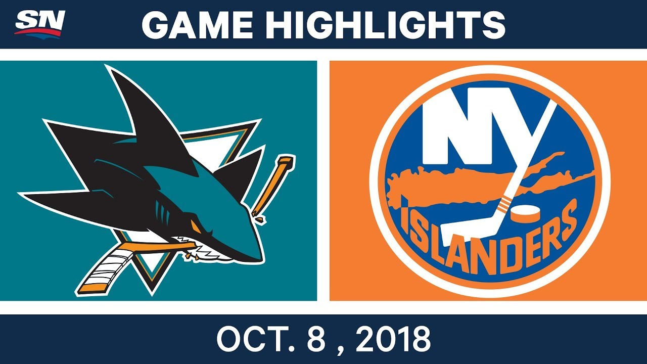 NHL Highlights | Sharks vs. Islanders - Oct. 08, 2018