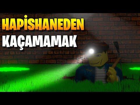 👮 Maden Kazarak Hapisten Kaçamamak! 👮 | Prison Escape Simulator | Roblox Türkçe