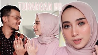 TUNANGAN MAKEUP-AN SENDIRI?!!! SIAPA TAKUT!!! || MAKE OVER ONE BRAND TUTORIAL || FATHI NRM