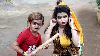 "छोटू ने करदिया बवाल  ""Desi Chhotu English Mem ""Part 16"" Khandesh Comedy Video"