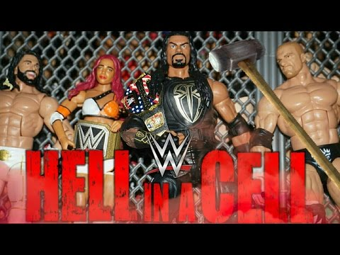 WWE HELL IN A CELL 2016 PREDICTIONS! (WWE Figures)