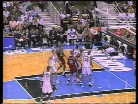 Orlando Magic V Miami Heat NBA 1999