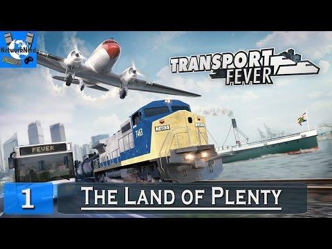 Transport Fever - Ep. 1 ┤The Land of Plenty├ (1850-56)
