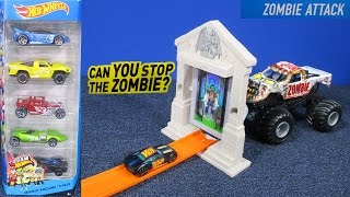 hot wheels zombie attack track set review by racegrooves