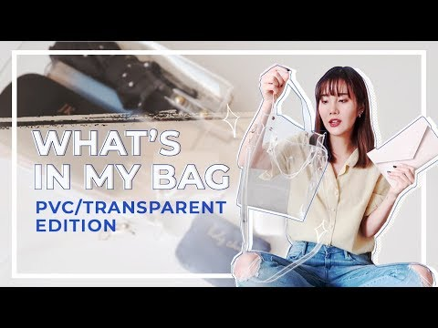 What's In My Clear PVC Bag?