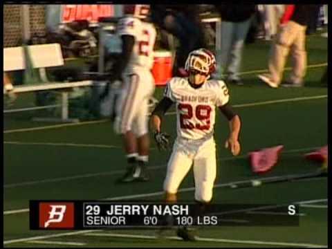 Jerry Nash III Kenosha Bradford Football 2011