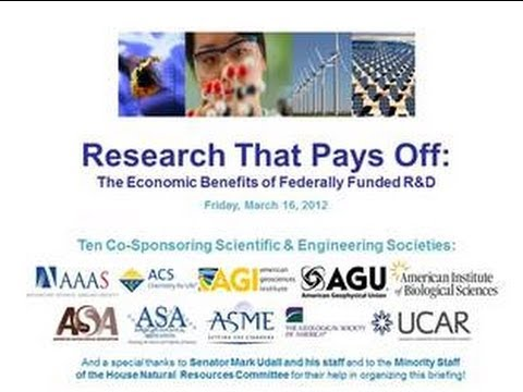 Research that Pays Off:  The Economic Benefits of Federally