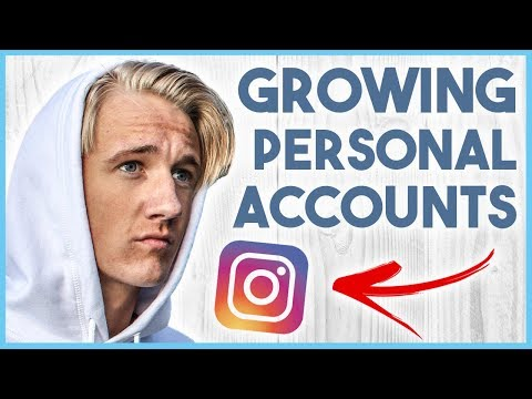 😝 HOW TO GROW A PERSONAL INSTAGRAM ACCOUNT - 100K IN 6 MONTHS EASY 😝