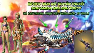 Garena Free Fire | Review Skin mới Nỏ Truyền thuyết - Famas linh thú và các món đồ mới Garena Free
