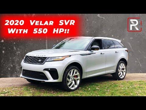 The Range Rover Velar SVAutobiography Dynamic Is A Crazy Fast Velar SVR