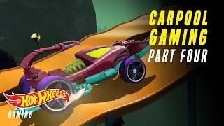 Hot Wheels Race-Off! | Carpool Gaming | Hot Wheels Gaming