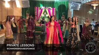 Bridal Sangeet Performance with Family | Punjabi Wedding Performance | Bollywood Wedding Dance|