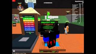ROBLOX MURDERER Ep1 Road To 50