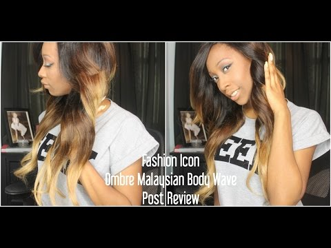 Post Review Ali Express l Fashion Icon Ombre Malaysian Body Wave