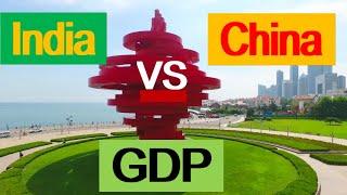 India vs China on GDP