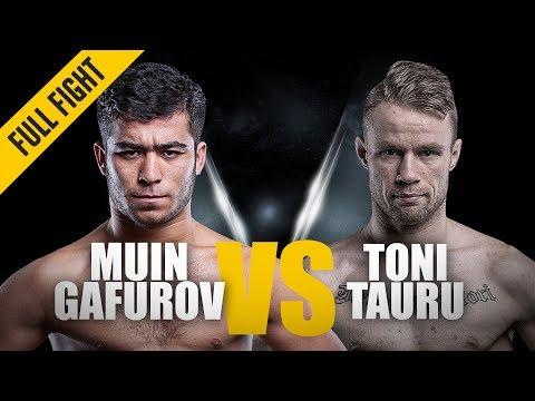ONE: Full Fight | Muin Gafurov Vs. Toni Tauru | Great Ground Game | January 2016