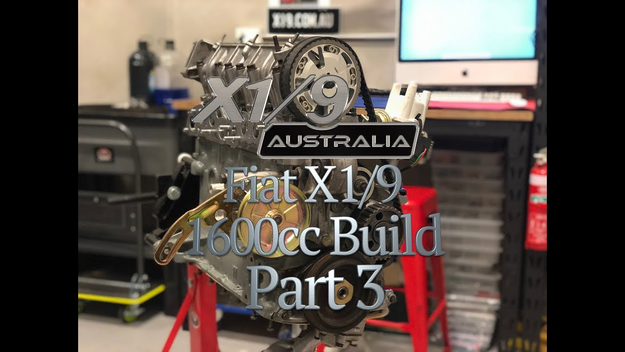 My Fiat X1/9 1600 Build part 3
