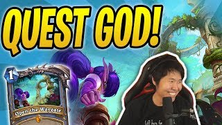 The QUEST GOD Returns! | Quest Mage | Rastakhan