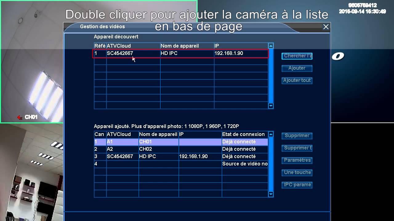 Vid U00e9osurveillance Hd-line Enregistreur Dvr Analogique Et Ip - Installation Rapide
