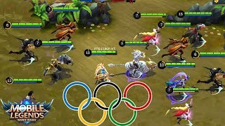 Mobile Legends OLYMPICS!! Who Is The Fastest ? - MARKSMAN OLYMPIC!!